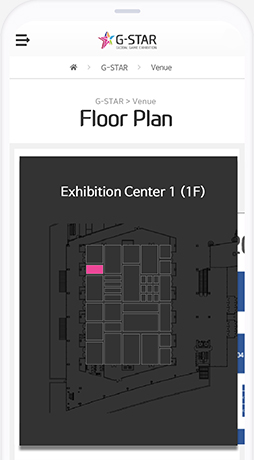 Search for Booth Location